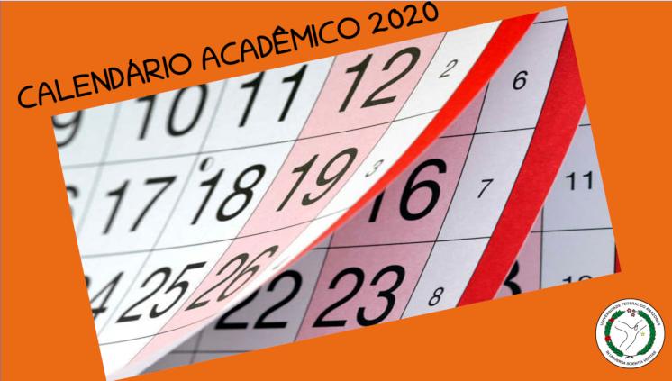 Proeg divulga Calendário Acadêmico 2020, período letivo tem início no dia 9 de março