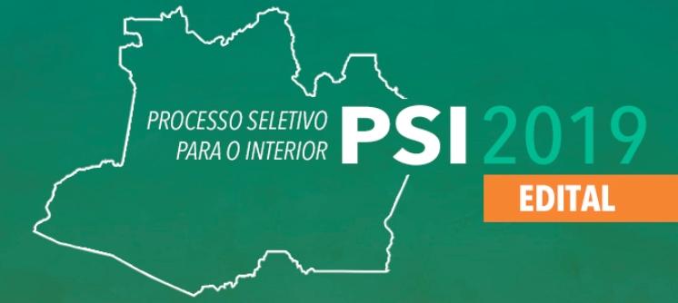 Ufam abre inscrições para o Processo Seletivo Interior - PSI 2019