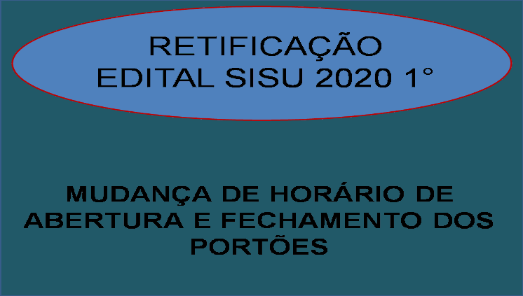 Matrícula da Primeira Chamada Sisu 2020 ocorre em novo horário